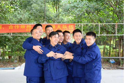 荔湾区消防大队2019年团队拓展训练